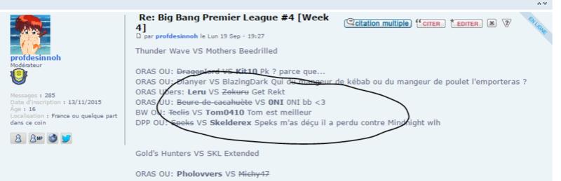 Big Bang Premier League #4 [Week 4] Leru_a10