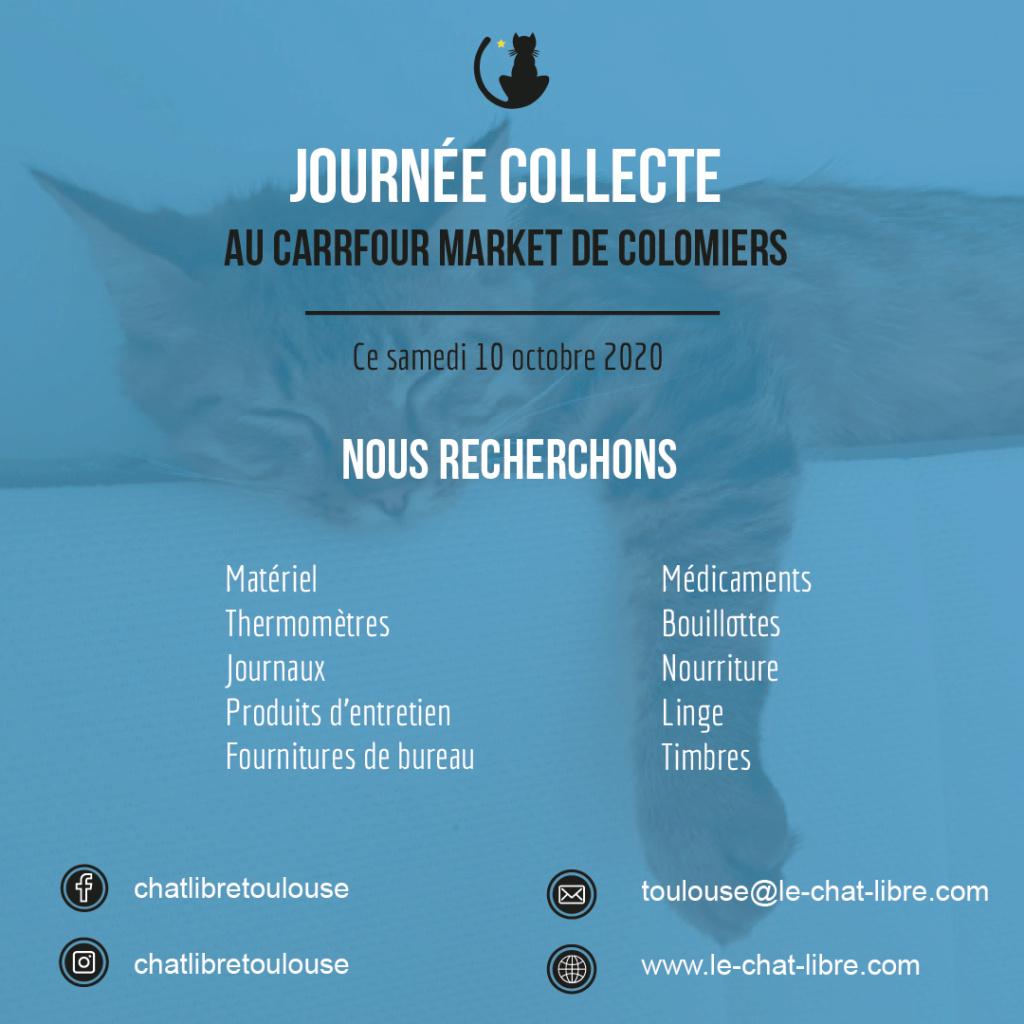 [Collecte] Samedi 10 octobre 2020 : Carrefour Market de Colomiers Collec14