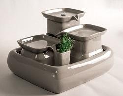Achetez une fontaine à eau en céramique : 12% nous sont reversés par Miaustore Fontai14