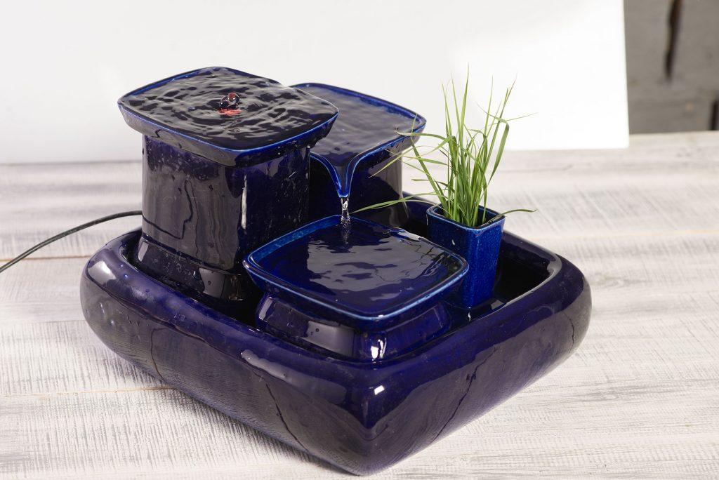 Achetez une fontaine à eau en céramique : 12% nous sont reversés par Miaustore Fontai15