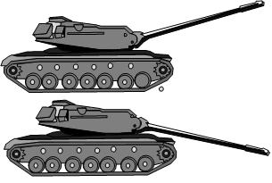 Dépression de Canon / Elévation de canon M10310