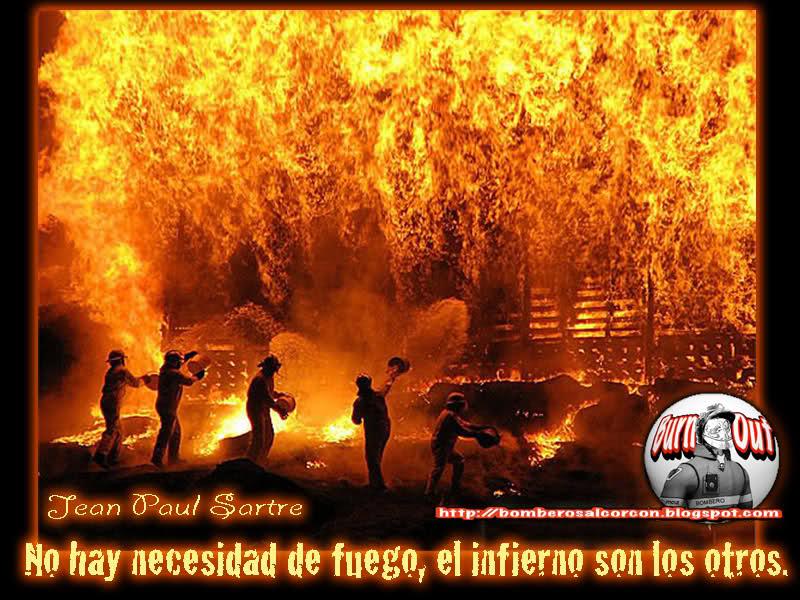 Carta de un bombero desde un infierno, entre la vida y la muerte 95t28j10
