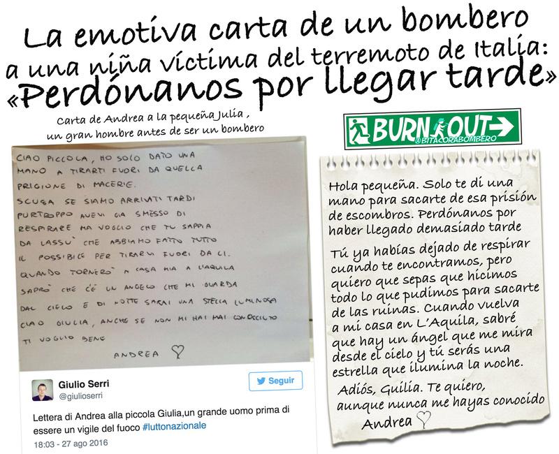 La emotiva carta de un bombero a una niña víctima del terremoto de Italia La_emo11