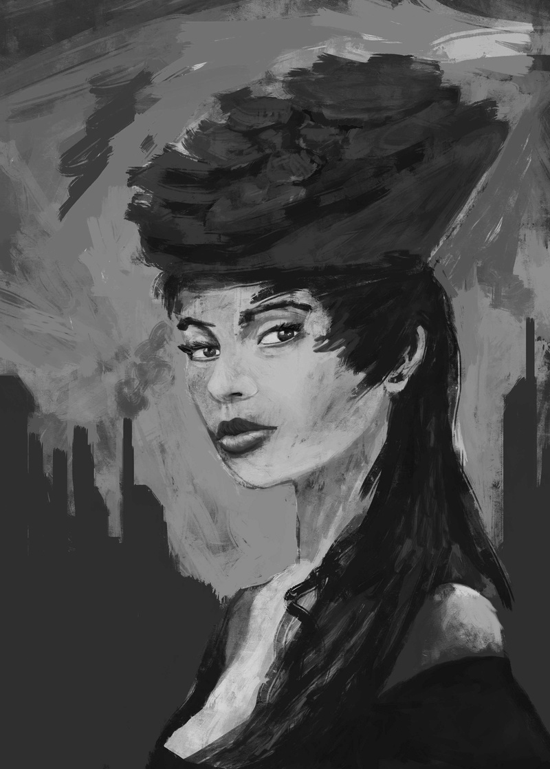 Twrch - croquis - Study painting - WIP  - Page 6 Irina10
