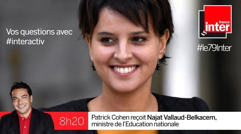 Journal de France 2 à 13h 15 : Najat Vallaud Belkacem invitée par Laurent Delahousse - Page 2 Image30