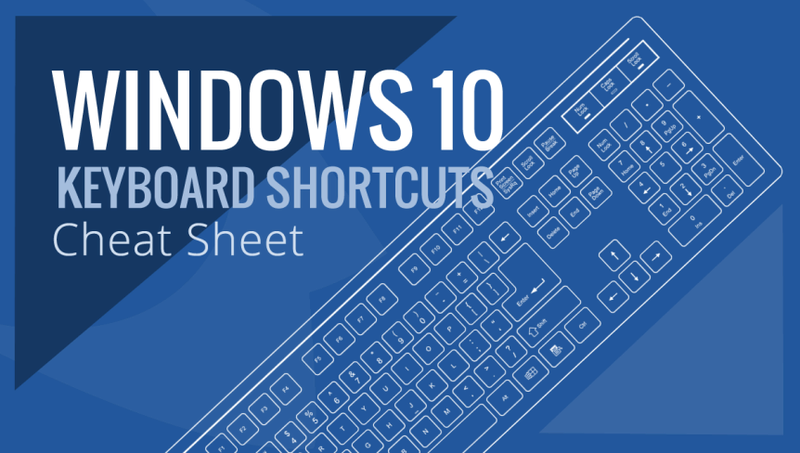جميع أختصارات الكيبورد لويندوز 10 | keyboard shortcuts Win-1010