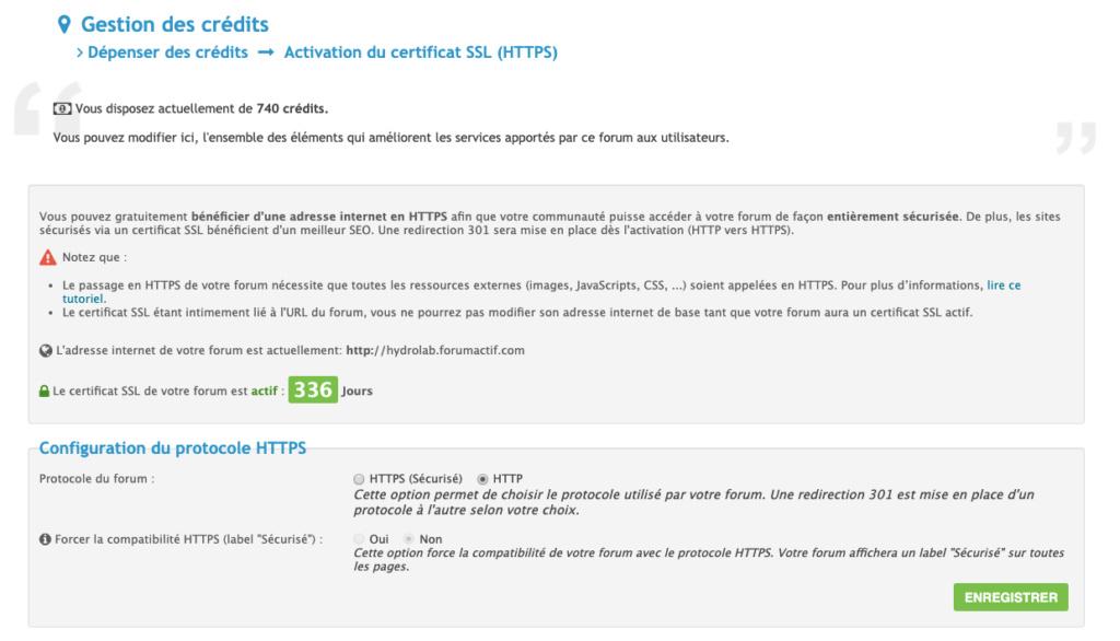 Certificat SSL Actif qui bloque le Changement de Nom Captur10