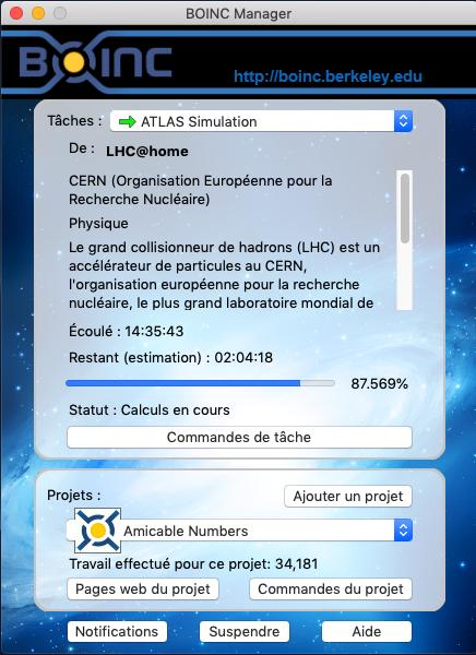 Comment rejoindre l'équipe HydroLAB / BOINC / France Mode_s10