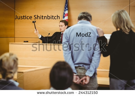 Hearing For ModZ - Court Now in Session Stock-10