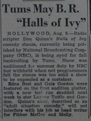 The Halls of Ivy 1949-012