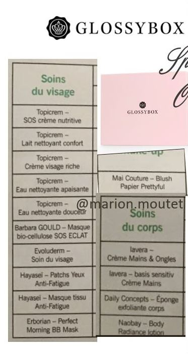 [Octobre 2016] Glossybox - Page 5 Glossy13