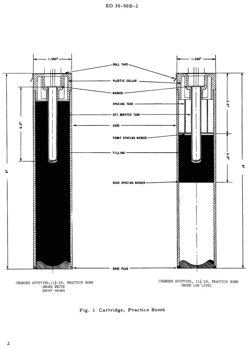 1944 RCAF Practice Bomb Mpb_1110