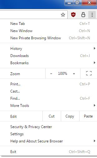 Secure Browser & 360 Browser 2 navigateurs légers alternatifs à Chrome Sb110