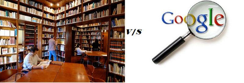 """14° Tema """" Biblioteca v/s google"""" Vs10"""