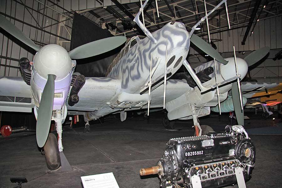 Messerschmitt BF-110 C 1/48 Eduard Messer10