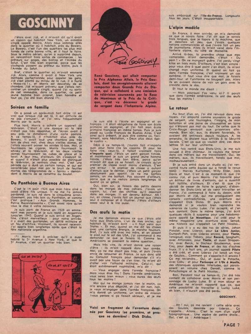 Journal de Spirou : les numéros spéciaux - Page 4 Specia13