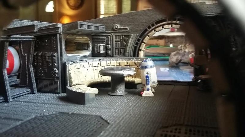 LrdSatyr's DeAgostini Millenium Falcon Diorama Build - Page 8 R2-in210