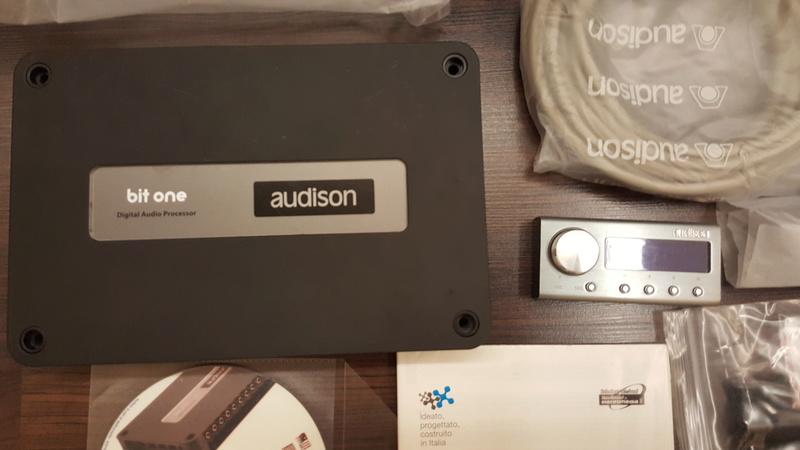 Audison Bit One Sound Processor (sold) 20160910