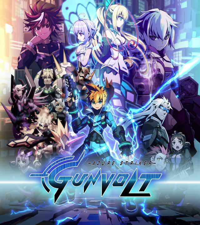 Azure Striker Gunvolt OVA anime official trailer Azure_10