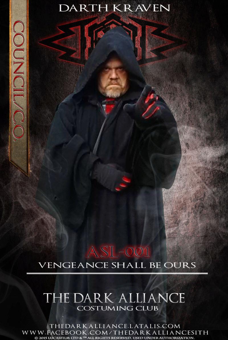 #1. ASL-001 Darth Kraven * Founder -1st Alliance C.O.* 4/24/13 Asl-0010