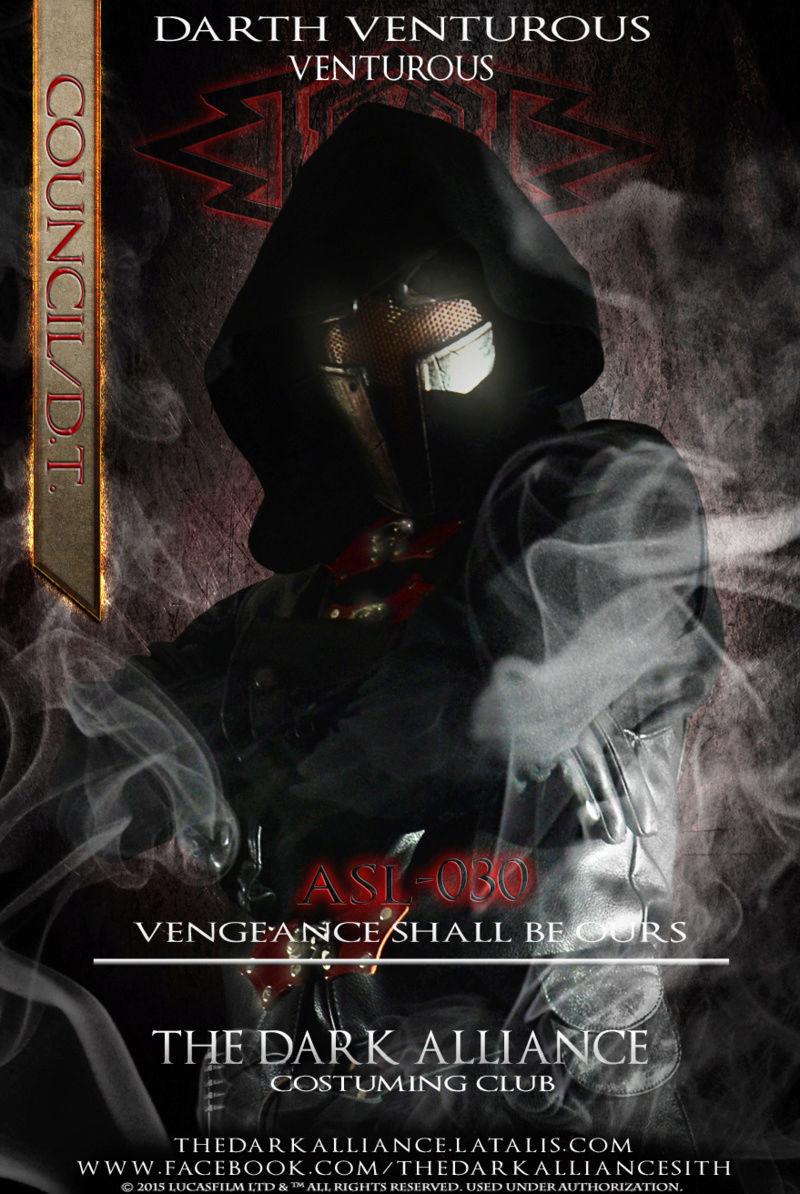 #30 ASL-030 Darth Venturous/Nassago/Raygon. ASA-001 Roren Valintez - 1st A.R.O 10/3/2013 Asl03010