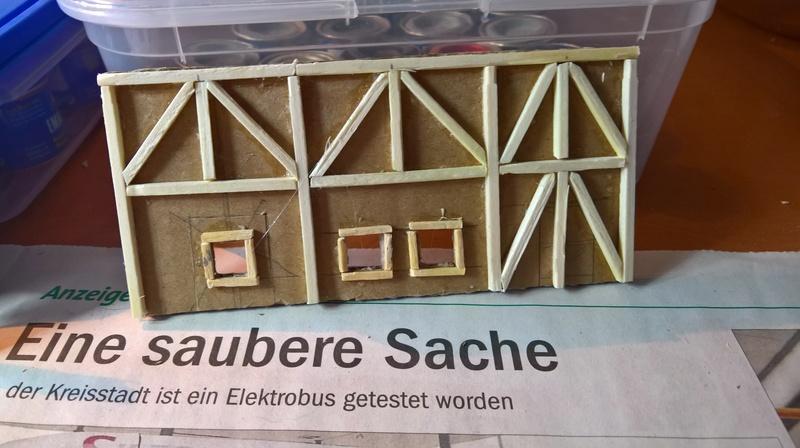 Strohdach für Mittelalter Häuser Wp_20112