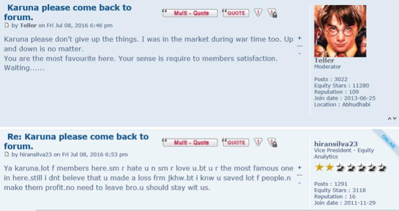 "Poll - Ban member id ""Karuna"" from this forum Karuna11"