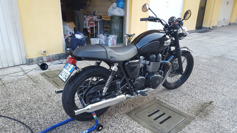 MiTomane Vs. Triumph Bonneville T100 20161015