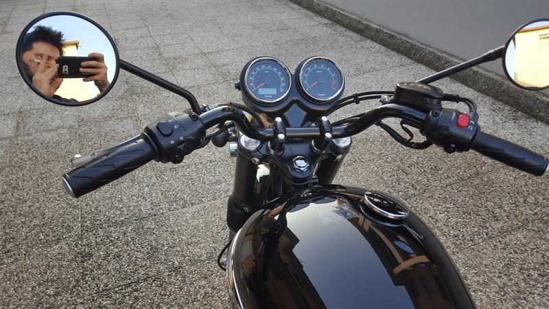MiTomane Vs. Triumph Bonneville T100 20161016