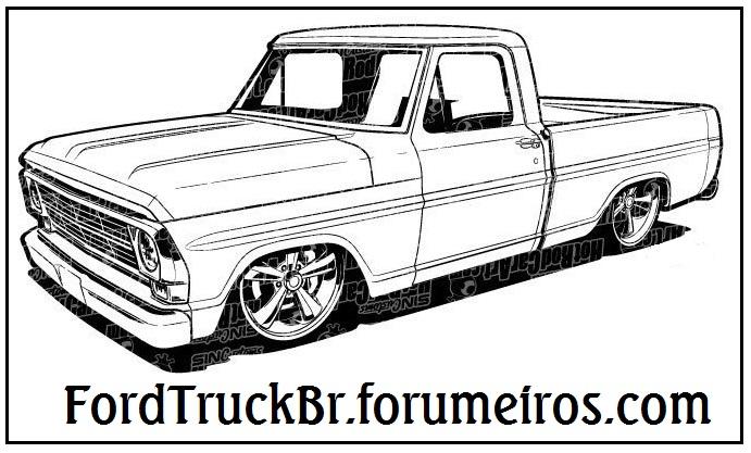 Adesivo do fórum para picapes F100_d10