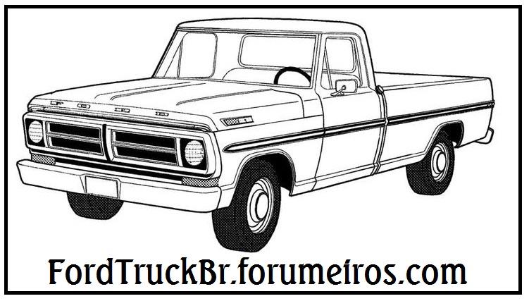 Adesivo do fórum para picapes F100_d11