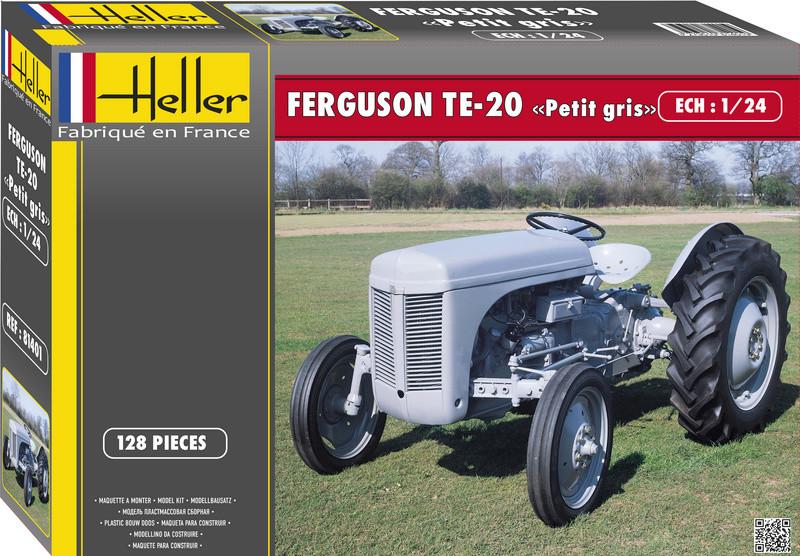 """FERGUSON TE-20 / FF-30  """"Petit gris"""" 1/24ème Réf 81401  81401_11"""