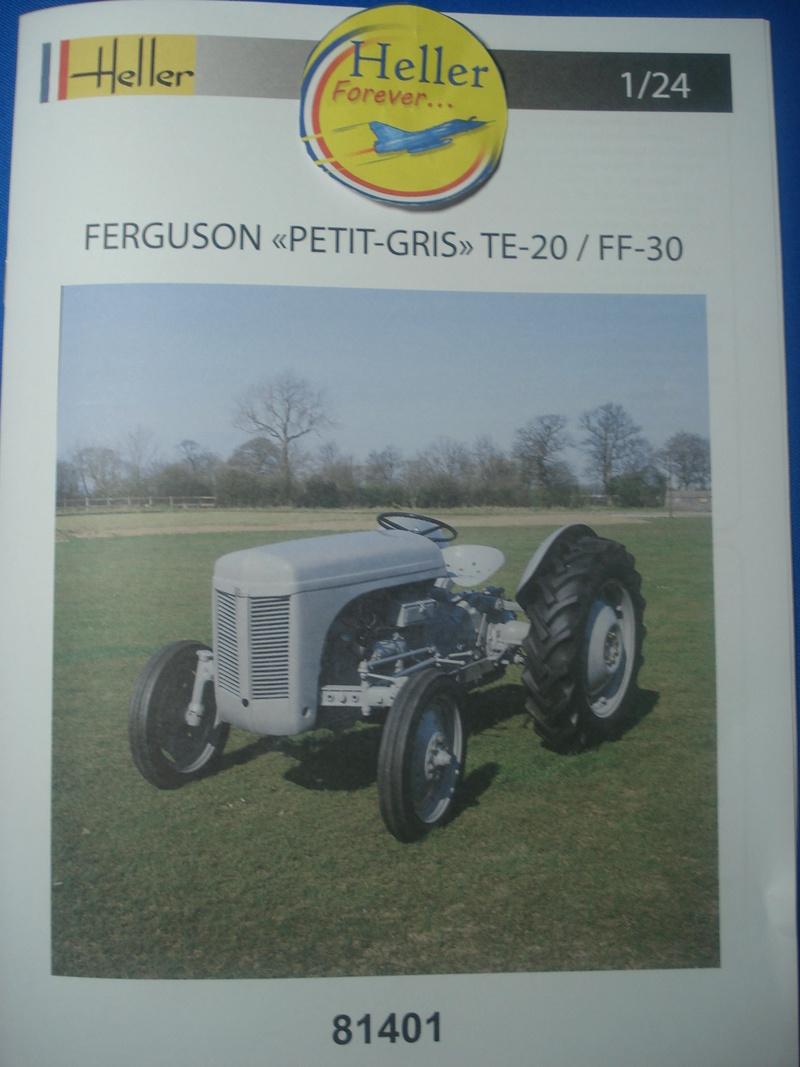 """FERGUSON """"petit -gris"""" TE20 / FF30  réf: 81401 - 1/24eme Dsc06010"""