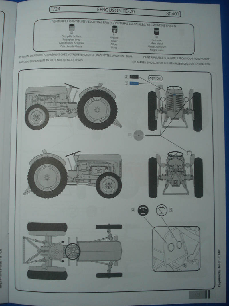 """FERGUSON TE-20 / FF-30  """"Petit gris"""" 1/24ème Réf 81401  Dsc06022"""