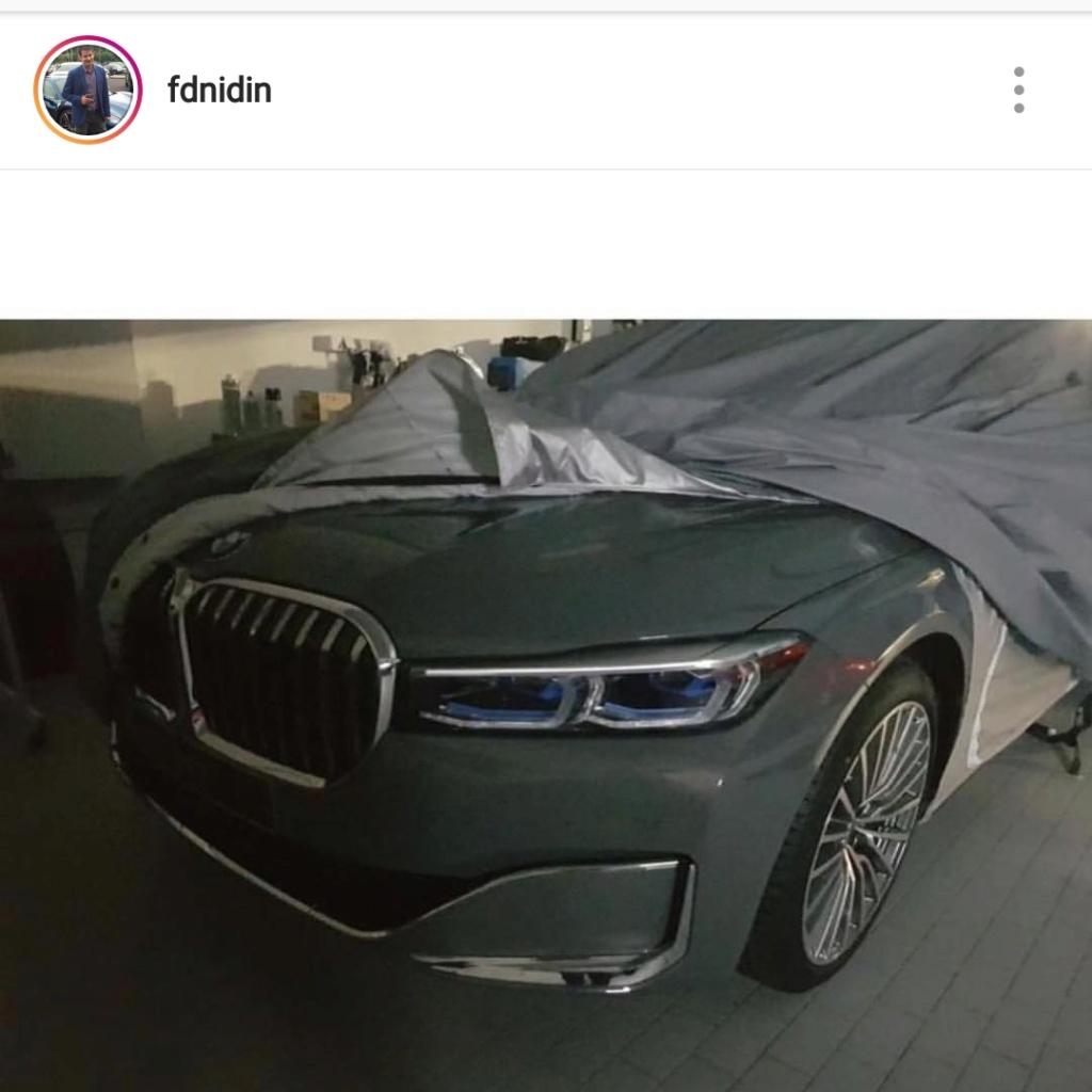 2019 - [BMW] Série 7 restylée  - Page 5 20190110