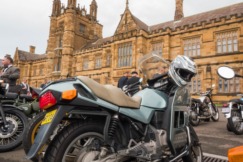 Distinguished Gentleman's Ride - Sydney 20160911