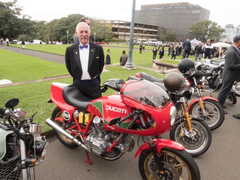 Distinguished Gentleman's Ride - Sydney 20160915