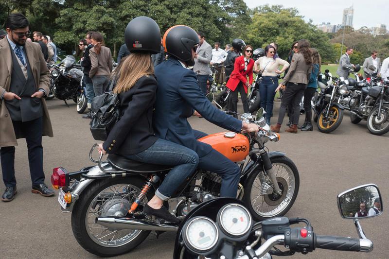 Distinguished Gentleman's Ride - Sydney 20160925