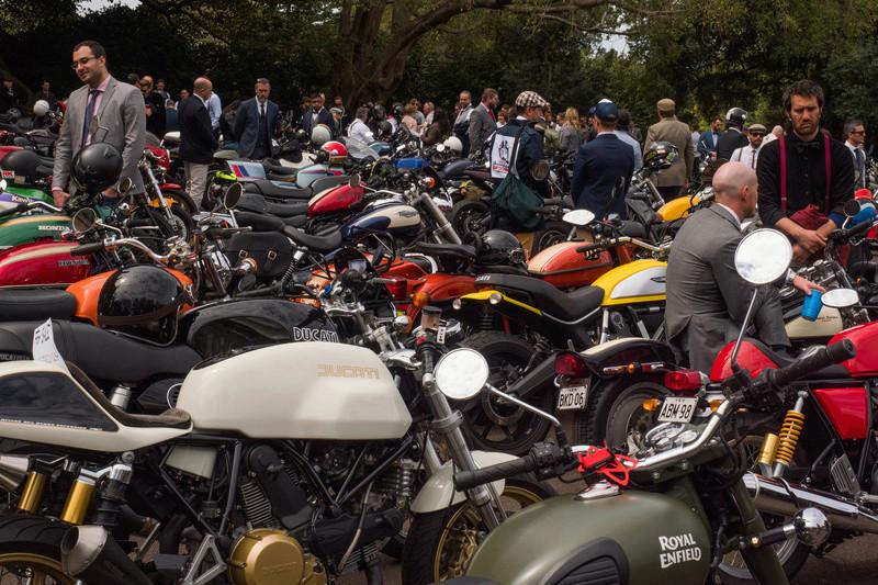 Distinguished Gentleman's Ride - Sydney 20160929