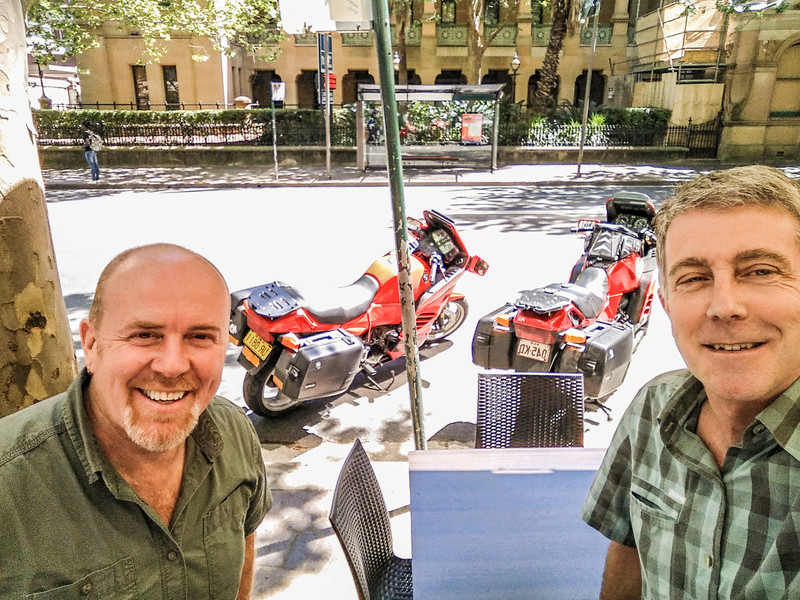 Brissie to Sydney, Melbourne, then Phillip Island ride. 2016_113