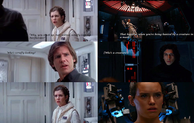 ARCHIVE: Rey and Kylo - Beauty and the Beast, Scavenger and the Monstah, Their Bond, His Love, Her Confused Feelings - 11 - Page 5 Screen15