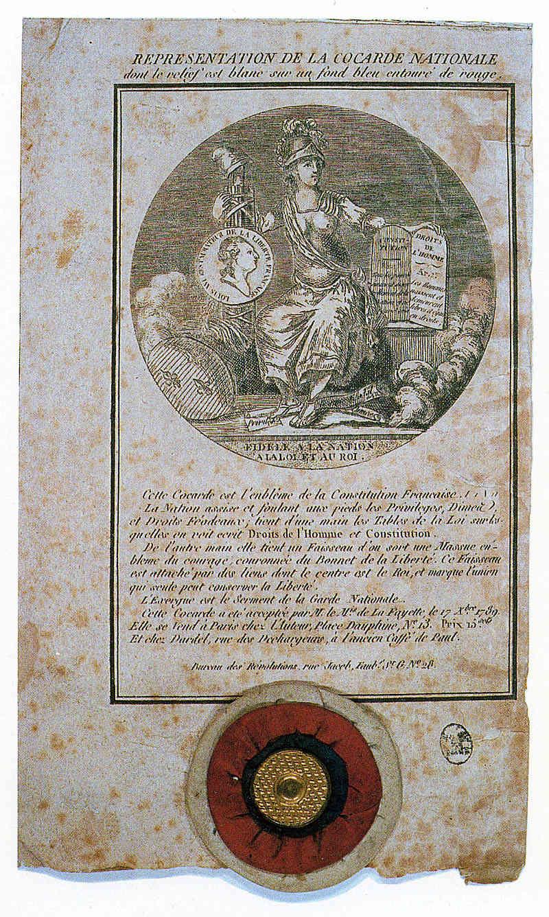 La cocarde tricolore française 0210