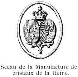 La cristallerie de la Reine Marie-Antoinette Crista12
