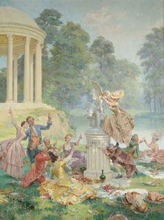 Le Temple de l'Amour, au Petit Trianon - Page 2 E872e110