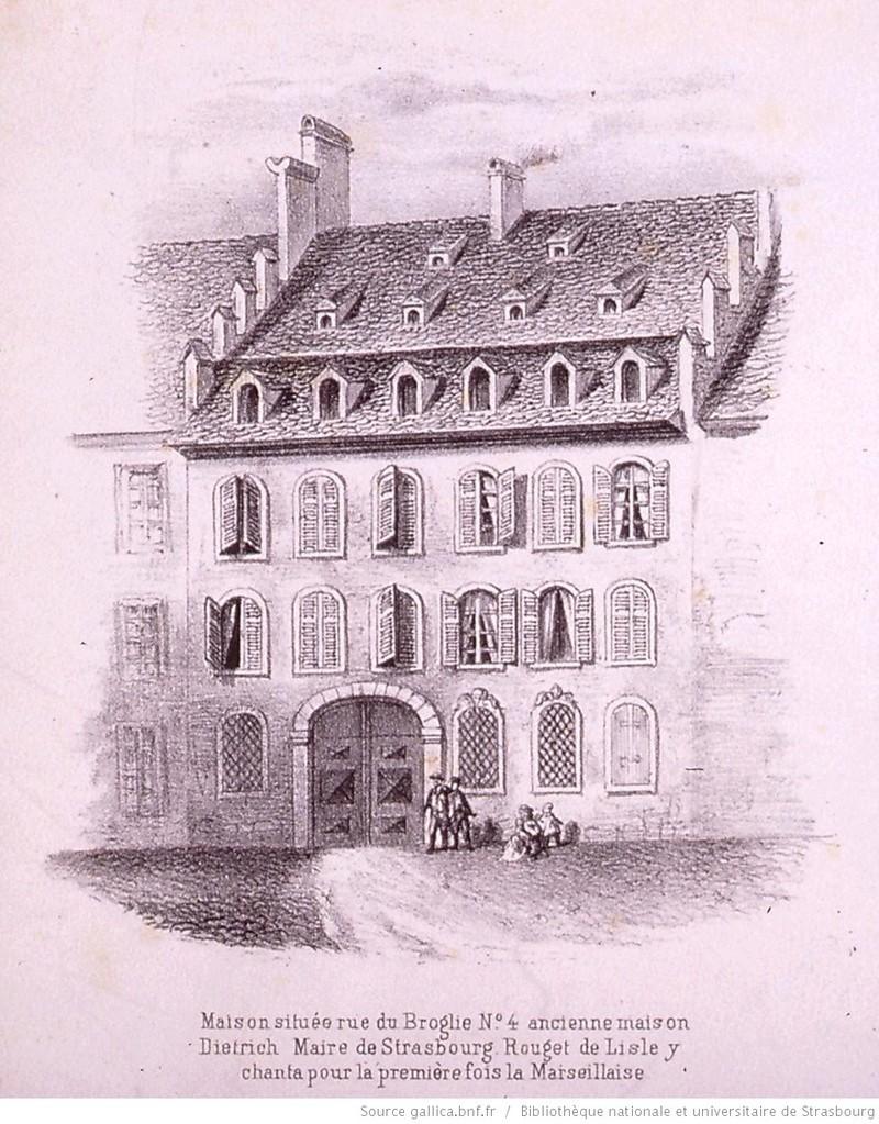 La Marseillaise et le Chant du Départ Maison10
