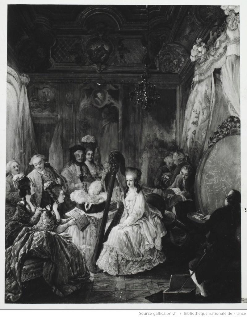 Marie-Antoinette et la musicomanie féminine à la cour....... Marie-10