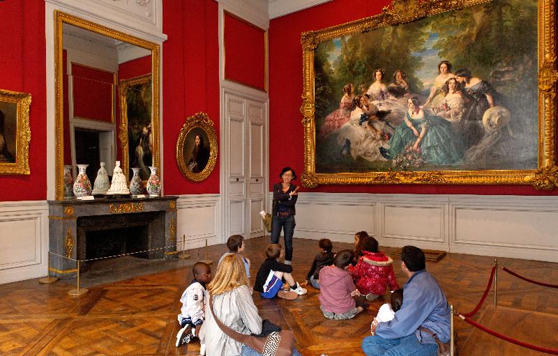 Exposition au palais de Compiègne : Winterhalter, portraits de cour Pcu--p10