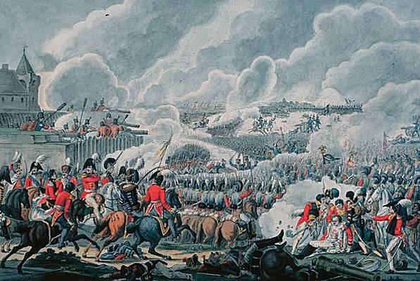 Waterloo.... Morne plaine agitée d'un jour, morte pour toujours. 10082210