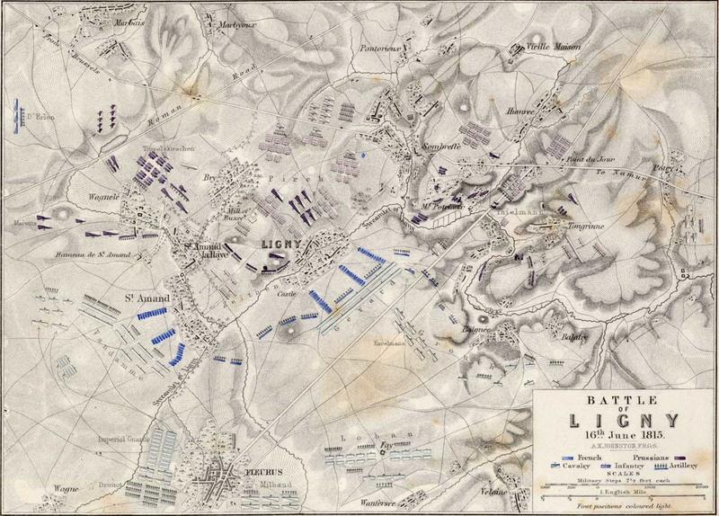 Waterloo.... Morne plaine agitée d'un jour, morte pour toujours. 1815li10