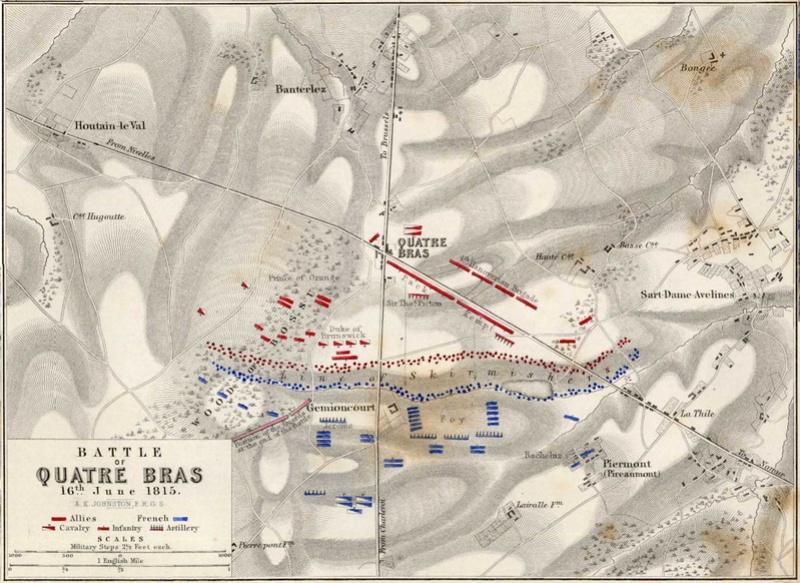Waterloo.... Morne plaine agitée d'un jour, morte pour toujours. 1815qu10